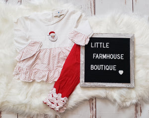 French Knot Santa Set Girl