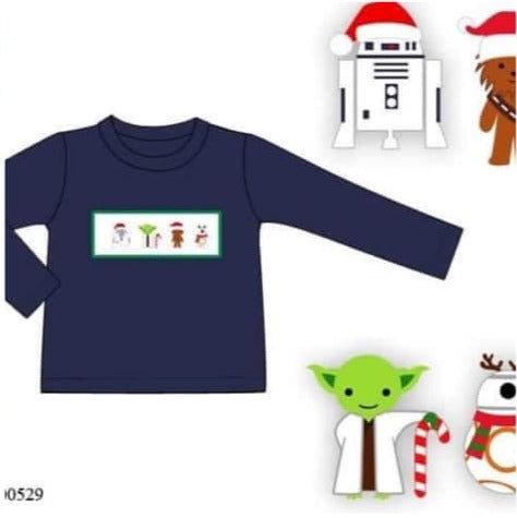 Smock Holiday Star Wars Shirt ETA November
