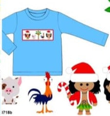 Smock Holiday Moana Shirt ETA November