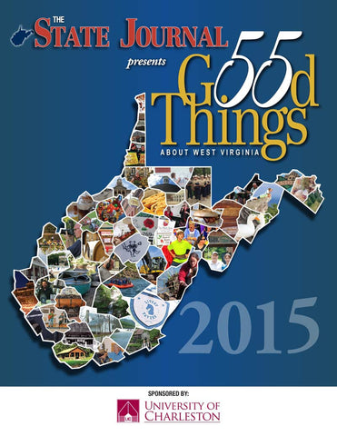 DIGITAL EDITION — 55 Good Things About West Virginia 2015