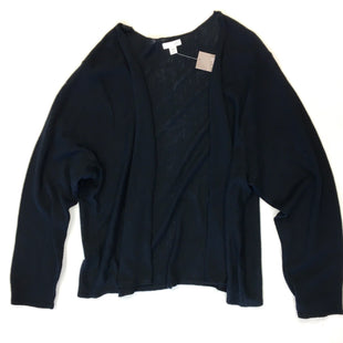 Primary Photo - BRAND: J JILL STYLE: SWEATER CARDIGAN LIGHTWEIGHT COLOR: BLACK SIZE: 3X SKU: 205-205250-52750