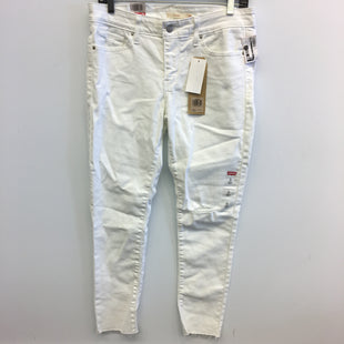 Primary Photo - BRAND: LEVIS STYLE: PANTS COLOR: DENIM WHITE SIZE: 6 SKU: 205-205318-3943