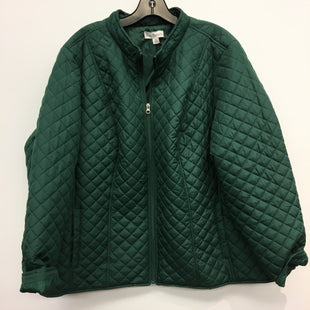 Primary Photo - BRAND: KIM ROGERS STYLE: JACKET OUTDOOR COLOR: GREEN SIZE: 2X SKU: 205-205250-75300