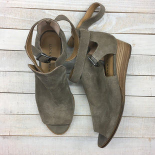 Primary Photo - BRAND: LUCKY BRAND STYLE: SANDALS LOW COLOR: BROWN SIZE: 6.5 SKU: 205-205250-76073