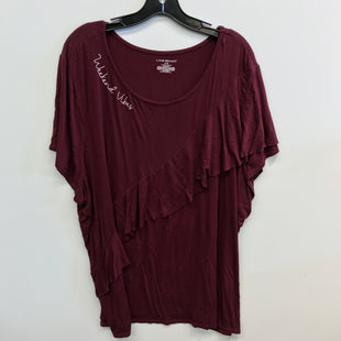 Primary Photo - BRAND: LANE BRYANT STYLE: TOP SHORT SLEEVE COLOR: RED SIZE: 26 OTHER INFO: 26/28 SKU: 205-205250-75451