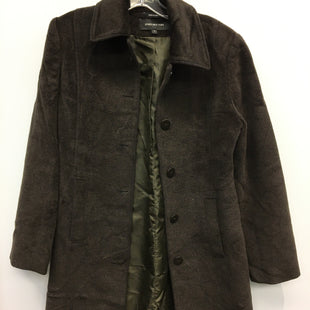 Primary Photo - BRAND: JONES NEW YORK STYLE: COAT LONG COLOR: BROWN SIZE: 4 SKU: 205-205283-527