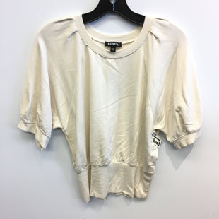 Primary Photo - BRAND: EXPRESS STYLE: TOP SHORT SLEEVE COLOR: BEIGE SIZE: M SKU: 205-205250-77740