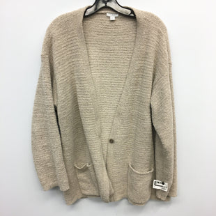 Primary Photo - BRAND: PURE JILL STYLE: SWEATER CARDIGAN LIGHTWEIGHT COLOR: TAN SIZE: XL SKU: 205-205318-1584