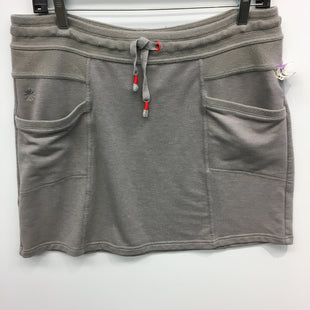 Primary Photo - BRAND: ATHLETA STYLE: ATHLETIC SKIRT SKORT COLOR: GREY SIZE: L SKU: 205-205299-13291