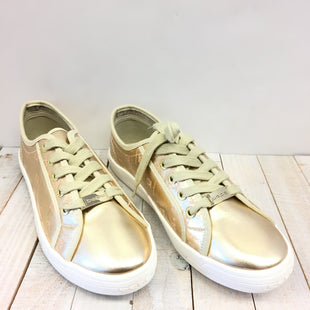 Primary Photo - BRAND: BEBE STYLE: SHOES ATHLETIC COLOR: GOLD SIZE: 9.5 SKU: 205-205250-62240