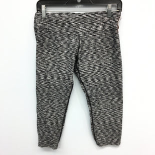 Primary Photo - BRAND: CALVIN KLEIN STYLE: ATHLETIC CAPRIS COLOR: BLACK WHITE SIZE: L SKU: 205-205250-75071
