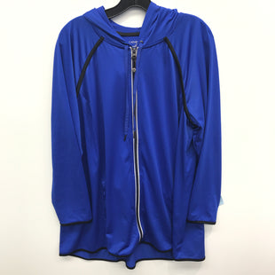Primary Photo - BRAND: CATHERINES STYLE: ATHLETIC JACKET COLOR: BLUE SIZE: 1X SKU: 205-205330-17