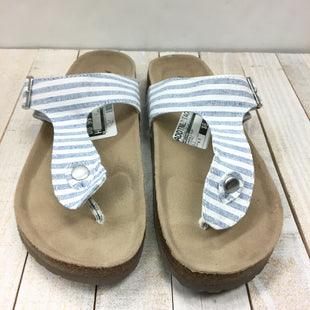 Primary Photo - BRAND: ARIZONA STYLE: SANDALS FLAT COLOR: STRIPED SIZE: 8.5 SKU: 205-205299-14876