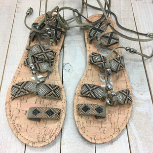 Primary Photo - BRAND: SAM AND LIBBY STYLE: SANDALS FLAT COLOR: MULTI SIZE: 7 SKU: 205-205318-991