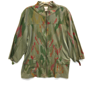 Primary Photo - BRAND: CHICOS STYLE: JACKET OUTDOOR COLOR: GREEN SIZE: XL SKU: 205-205250-55319