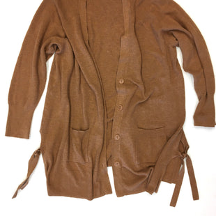 Primary Photo - BRAND: DRESSBARN STYLE: SWEATER CARDIGAN LIGHTWEIGHT COLOR: BROWN SIZE: 2X SKU: 205-205318-177