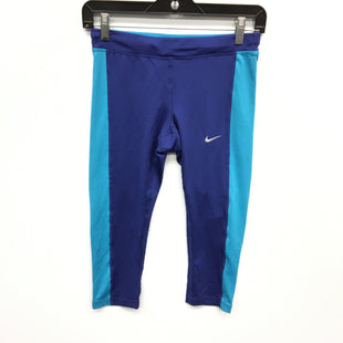 Primary Photo - BRAND: NIKE STYLE: ATHLETIC CAPRIS COLOR: BLUE SIZE: XS SKU: 205-205283-1558