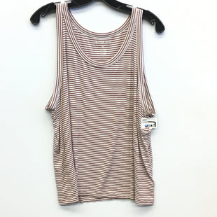Primary Photo - BRAND: AMERICAN EAGLE STYLE: TOP SLEEVELESS COLOR: STRIPED SIZE: 2X SKU: 205-205318-1779
