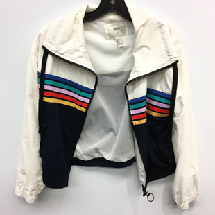 Primary Photo - BRAND: FOREVER 21 STYLE: JACKET OUTDOOR COLOR: STRIPED SIZE: S SKU: 205-205299-17597