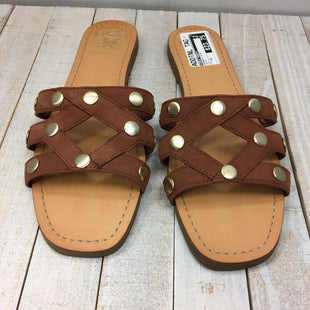 Primary Photo - BRAND: VINCE CAMUTO STYLE: SANDALS FLAT COLOR: BROWN SIZE: 10 SKU: 205-205250-66291
