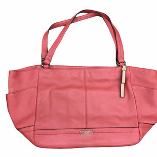 Primary Photo - BRAND: COACH STYLE: HANDBAG DESIGNER COLOR: ORANGE SIZE: MEDIUM OTHER INFO: DESIGNER SKU: 205-205250-74307