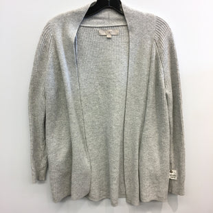 Primary Photo - BRAND: ANN TAYLOR LOFT STYLE: SWEATER CARDIGAN LIGHTWEIGHT COLOR: GREY SIZE: XS SKU: 205-205250-72565