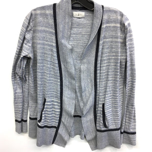 Primary Photo - BRAND: LOU AND GREY STYLE: SWEATER CARDIGAN LIGHTWEIGHT COLOR: BLUE SIZE: S SKU: 205-205250-58138