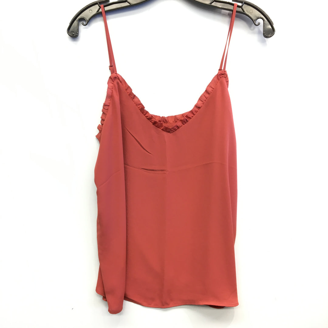 Primary Photo - BRAND: ANN TAYLOR LOFT <BR>STYLE: TANK TOP <BR>COLOR: ORANGE <BR>SIZE: S <BR>SKU: 205-205250-69451