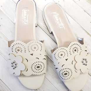 Primary Photo - BRAND: NANETTE LEPORE STYLE: SHOES DESIGNER COLOR: WHITE SIZE: 9 OTHER INFO: DESIGNER SKU: