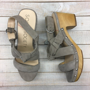 Primary Photo - BRAND: SOLE SOCIETY STYLE: SANDALS HIGH COLOR: BROWN SIZE: 6 SKU: 205-205250-76074
