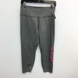 Primary Photo - BRAND: NIKE APPAREL STYLE: ATHLETIC CAPRIS COLOR: GREY SIZE: L SKU: 205-205318-4119