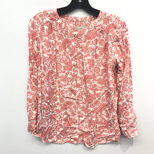 Primary Photo - BRAND: ANN TAYLOR LOFT STYLE: TOP LONG SLEEVE COLOR: FLORAL SIZE: PETITE  MEDIUM SKU: 205-205250-76502