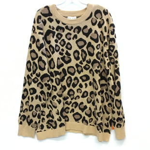 Primary Photo - BRAND: AVA & VIV STYLE: SWEATER LIGHTWEIGHT COLOR: ANIMAL PRINT SIZE: 4X SKU: 205-205250-74179