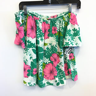 Primary Photo - BRAND:    CLOTHES MENTOR STYLE: TOP SHORT SLEEVE COLOR: FLORAL SIZE: S OTHER INFO: IZZY AND LOLA - SKU: 205-205250-77544