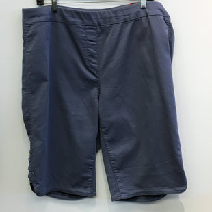 Primary Photo - BRAND: AVENUE STYLE: SHORTS COLOR: BLUE SIZE: 18 SKU: 205-205299-11809