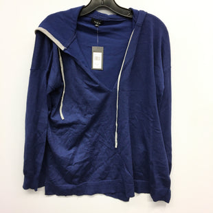 Primary Photo - BRAND: VERVE AMI STYLE: SWEATSHIRT HOODIE COLOR: BLUE SIZE: M SKU: 205-205318-3177