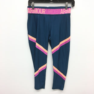 Primary Photo - BRAND: UNDER ARMOUR STYLE: ATHLETIC CAPRIS COLOR: BLUE SIZE: L SKU: 205-205250-70995