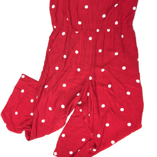 Primary Photo - BRAND: ANN TAYLOR LOFT STYLE: DRESS LONG SLEEVELESS COLOR: RED WHITE SIZE: L OTHER INFO: JUMPSUIT SKU: 205-205299-13946