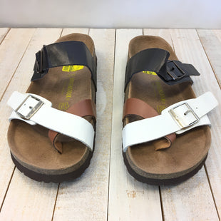 Primary Photo - BRAND: BIRKENSTOCKS STYLE: SANDALS FLAT COLOR: MULTI SIZE: 6.5 SKU: 205-205299-17242