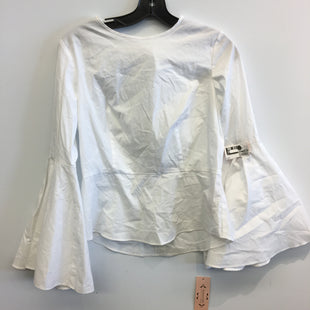 Primary Photo - BRAND: NANETTE LEPORE STYLE: TOP LONG SLEEVE COLOR: WHITE SIZE: M SKU: 205-205250-74705
