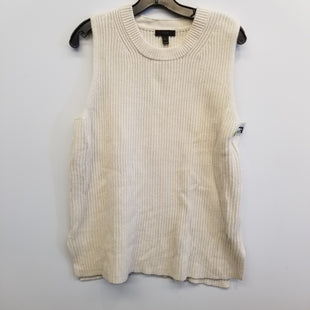 Primary Photo - BRAND: J CREW STYLE: TOP SLEEVELESS COLOR: WHITE SIZE: L SKU: 205-205250-80213