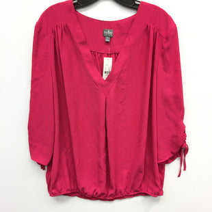 Primary Photo - BRAND: NEW YORK AND CO STYLE: TOP LONG SLEEVE COLOR: PINK SIZE: XL SKU: 205-205318-3225