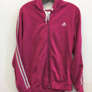 Primary Photo - BRAND: ADIDAS STYLE: SWEATSHIRT HOODIE COLOR: PINK SIZE: XL SKU: 205-205299-6109
