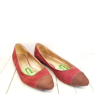 Primary Photo - BRAND: ANN TAYLOR LOFT O STYLE: SHOES FLATS COLOR: RED SIZE: 8 SKU: 205-205250-60386