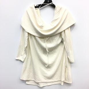 Primary Photo - BRAND: SEVEN 7 STYLE: TUNIC LONG SLEEVE COLOR: OFF WHITE SIZE: 2X SKU: 205-205250-73729