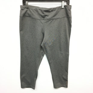 Primary Photo - BRAND: REEBOK STYLE: ATHLETIC CAPRIS COLOR: GREY SIZE: XL SKU: 205-205318-298
