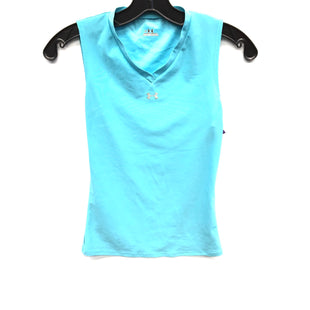 Primary Photo - BRAND: UNDER ARMOUR STYLE: ATHLETIC TANK TOP COLOR: BLUE SIZE: S SKU: 205-205299-12942