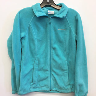 Primary Photo - BRAND: COLUMBIA STYLE: JACKET OUTDOOR COLOR: BLUE SIZE: S SKU: 205-205280-4058