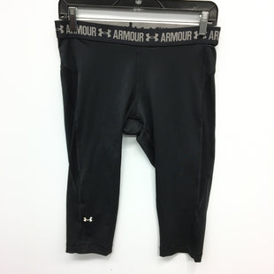 Primary Photo - BRAND: UNDER ARMOUR STYLE: ATHLETIC CAPRIS COLOR: BLACK SIZE: L SKU: 205-205297-4641