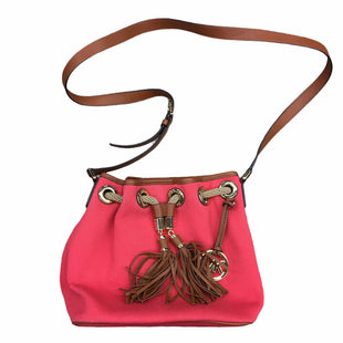 Primary Photo - BRAND: MICHAEL BY MICHAEL KORS STYLE: HANDBAG DESIGNER COLOR: ORANGE SIZE: SMALL OTHER INFO: DESIGNER SKU: 205-205250-74304